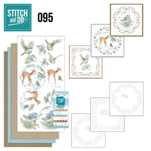 Stitch and Do Pakket - Winter Woodland
