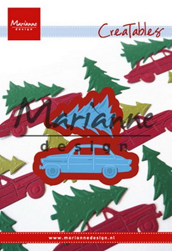 Creatables Marianne Design - driving home for christmas