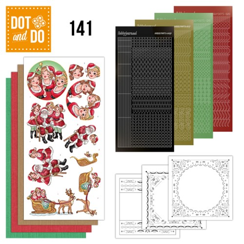 Dot & Do Hobbydots Pakket - Bubbly Girls Xmas