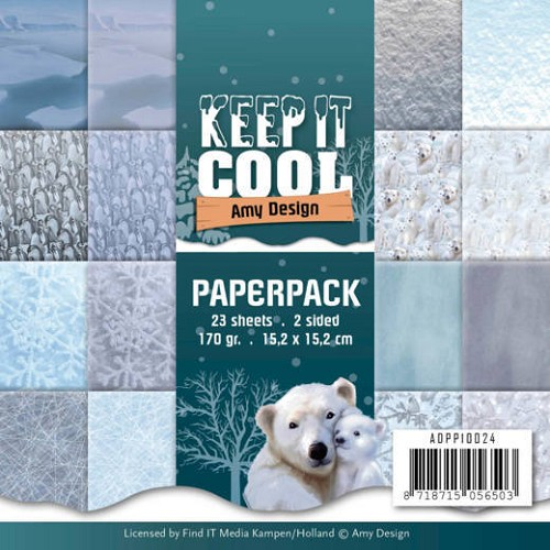 Paper Pack Amy Design - Keep it Cool
