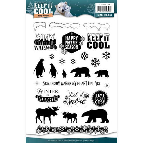 Clearstamps Amy Design - Keep it Cool