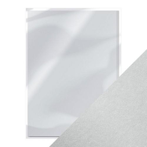 Tonic Pearlescent Paper - luna silver
