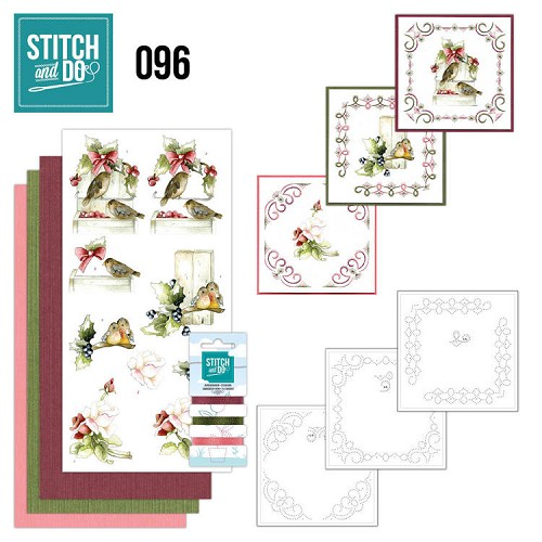 Stitch and Do Pakket - winter birds