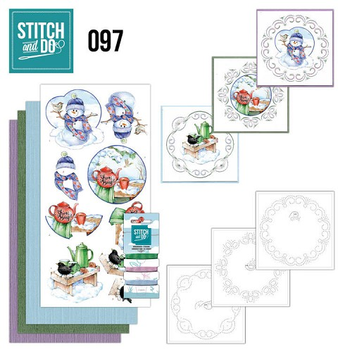 Stitch and Do Pakket - warm winter