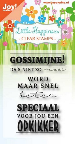 Joy Clearstamps - Little Happiness - gossimijne