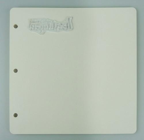 White Plates for Stamp Storage Case EFC004