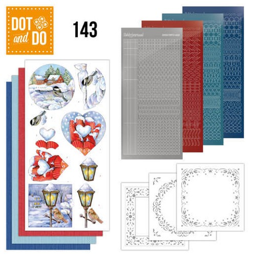 Dot & do Hobbydots Pakket - winter scenes