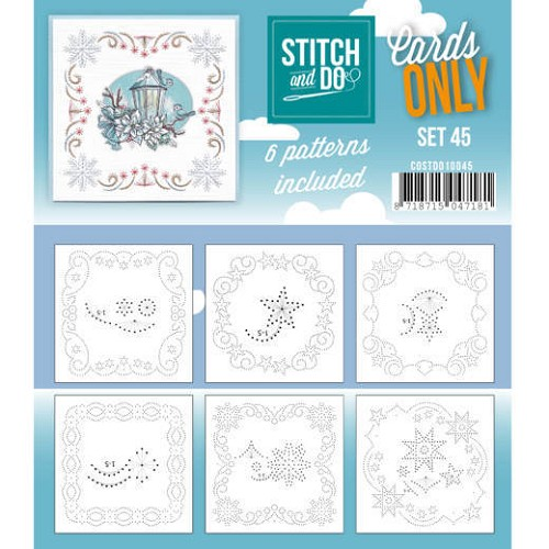 Stitch and Do Cards Only - set 45