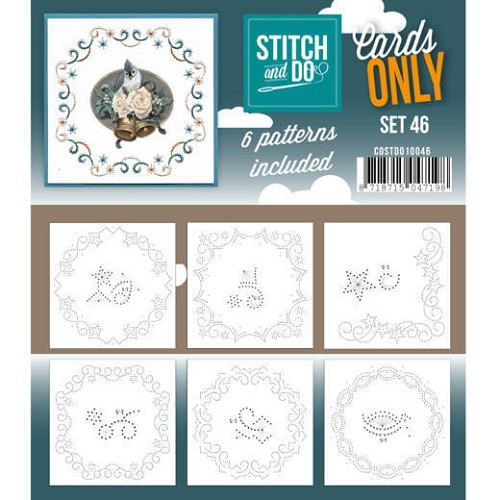 Stitch and Do Cards Only - set 46