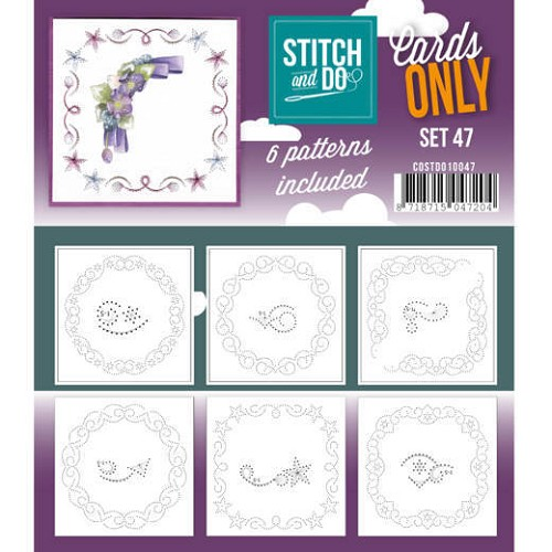 Stitch and Do Cards Only - set 47