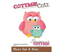 Cottage Cutz Stans - Mama Owl & Baby