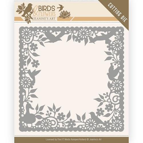 Jeanine`s Art Stans - Birds and Flowers - birds frame