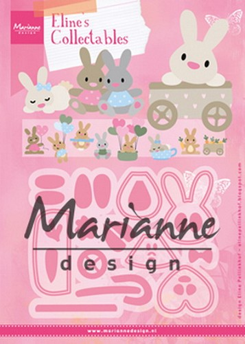 Collectables Marianne Design - Eline`s baby konijntje