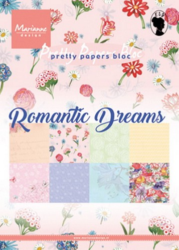 Pretty Papers Bloc - Romantic Dreams