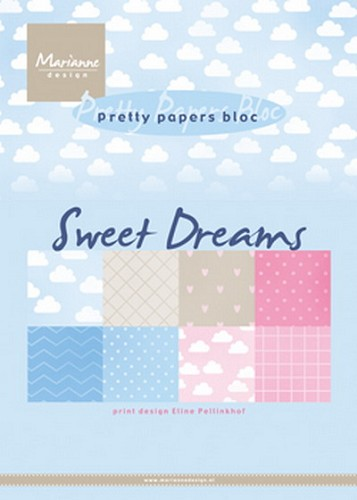 Pretty Papers Bloc - Eline`s Sweet Dreams