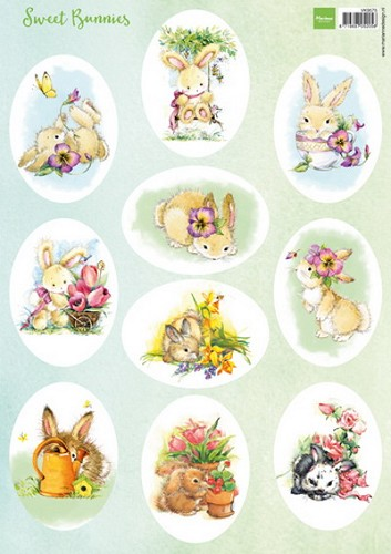 Knipvel Marianne Design - Sweet Bunnies