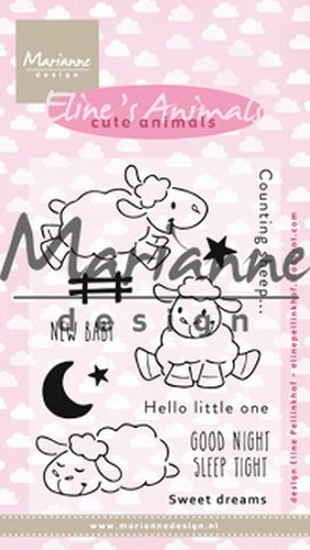 Clearstamps Marianne Design - Eline`s Babies - cute animals