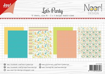 Joy Paper Pack - Let`s Party