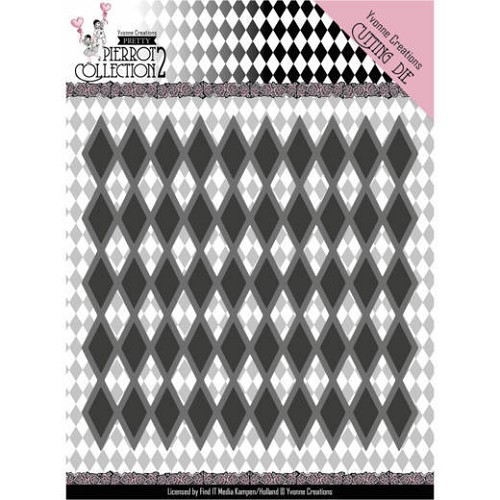 Yvonne Creations Stans - Pretty Pierrot 2 - diamond pattern