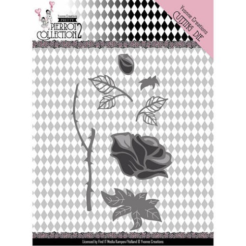 Yvonne Creations Stans - Pretty Pierrot 2 - rose