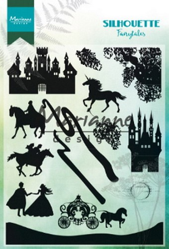Clearstamps Marianne Design - Silhouette - fairytales