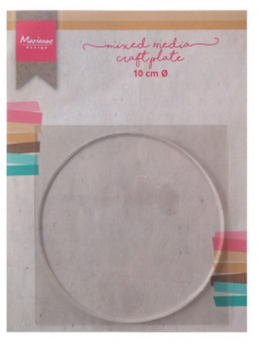 Marianne Design Mixed Media Craft Plate -  cirkel 10 cm