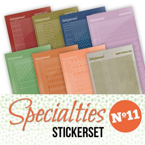 Stickerset bij Specialties No. 11