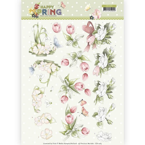 Knipvel Precious Marieke - Happy Spring CD11265