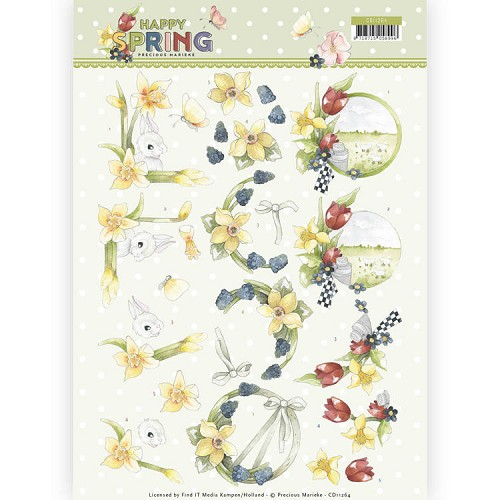 Knipvel Precious Marieke - Happy Spring CD11264