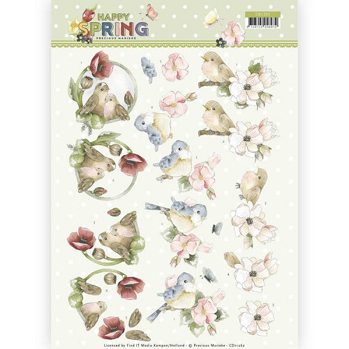 Knipvel Precious Marieke - Happy Spring CD11262