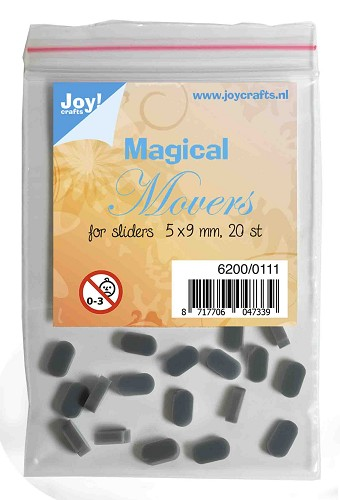 Joy Magical Movers for Sliders - 5 x 9 mm