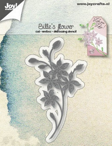 Joy Stencil - Bille`s flower