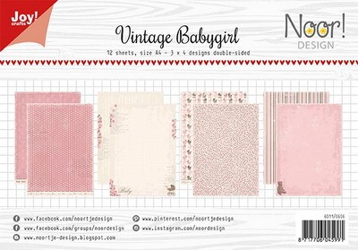 Joy Paper Pack - vintage baby girl