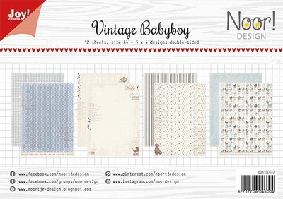 Joy Paper Pack - vintage baby boy