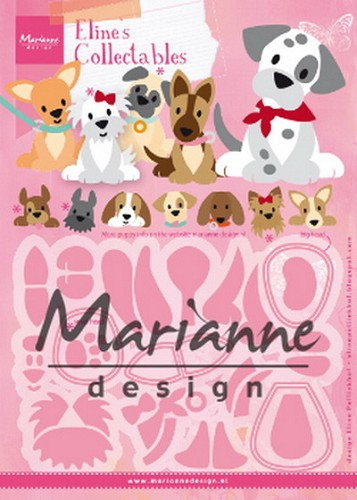 Collectables Marianne Design - Eline`s Puppy