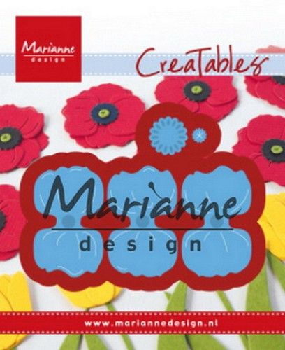 Creatables Marianne Design - poppy