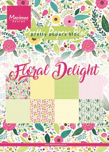 Pretty Papers Bloc - Floral Delight