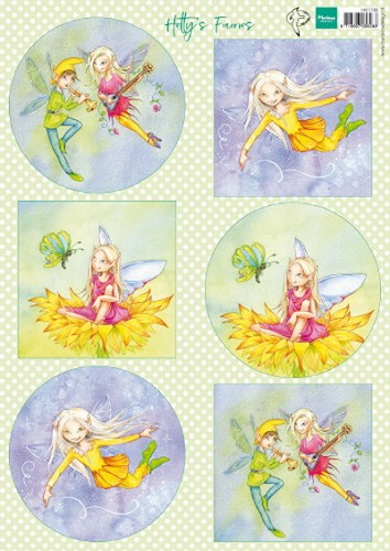 Knipvel Marianne Design - Hetty`s Fairies