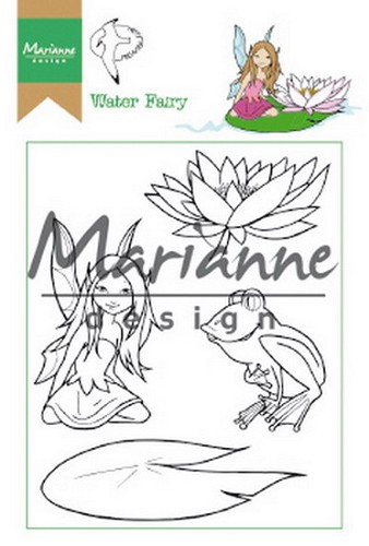 Clearstamps Marianne Design - Hetty`s water fairy