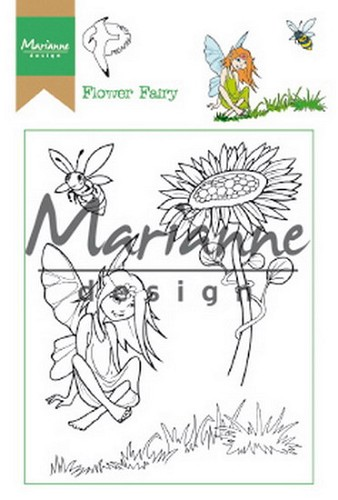 Clearstamps Marianne Design - Hetty`s flower fairy