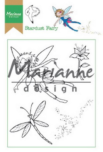 Clearstamps Marianne Design - Hetty`s stardust fairy