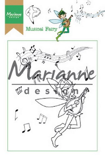 Clearstamps Marianne Design - Hetty`s musical fairy