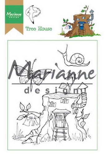 Clearstamps Marianne Design - Hetty`s tree house