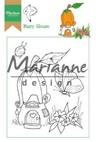 Clearstamps Marianne Design - Hetty`s fairy house