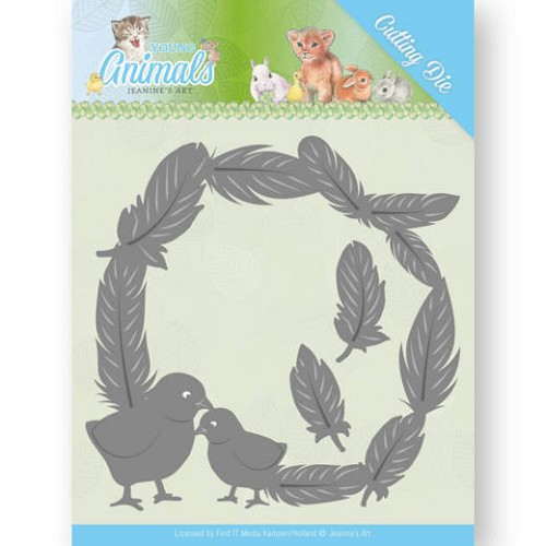 Jeanine`s Art Stans - Young Animals - feathers all around