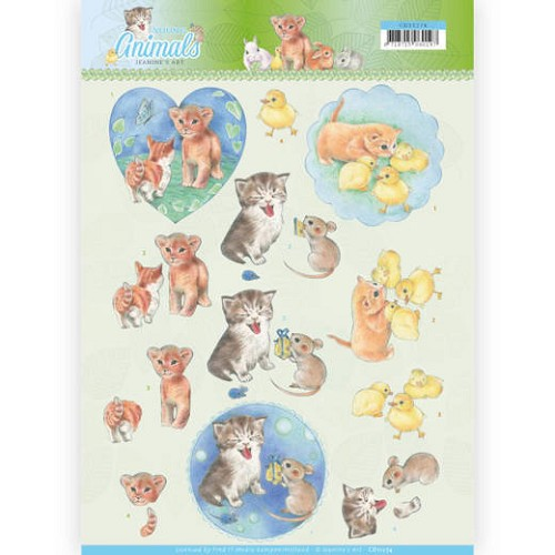 Knipvel Jeanine`s Art - Young Animals CD11274