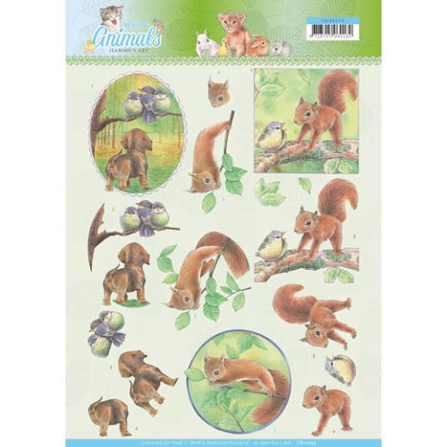 Knipvel Jeanine`s Art - Young Animals CD11273