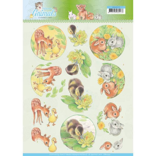 Knipvel Jeanine`s Art - Young Animals CD11272