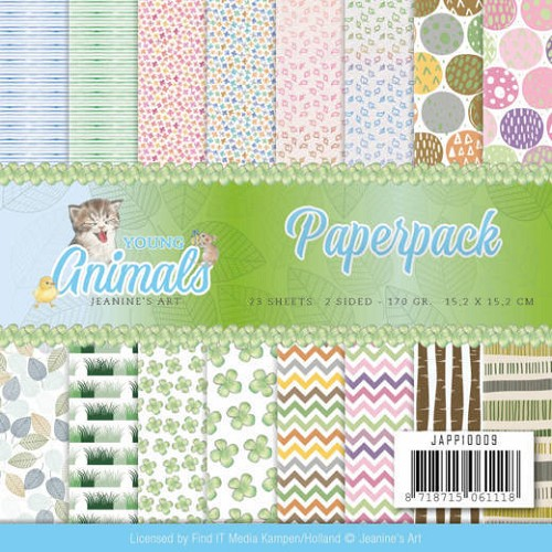 Paper Pack Jeanine`s Art - Young Animals
