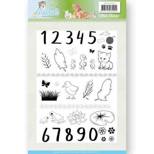 Clearstamps Jeanine`s Art - Young Animals